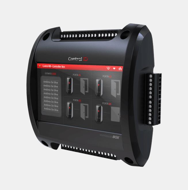 Controle de Acesso em Santos Display LCD Box