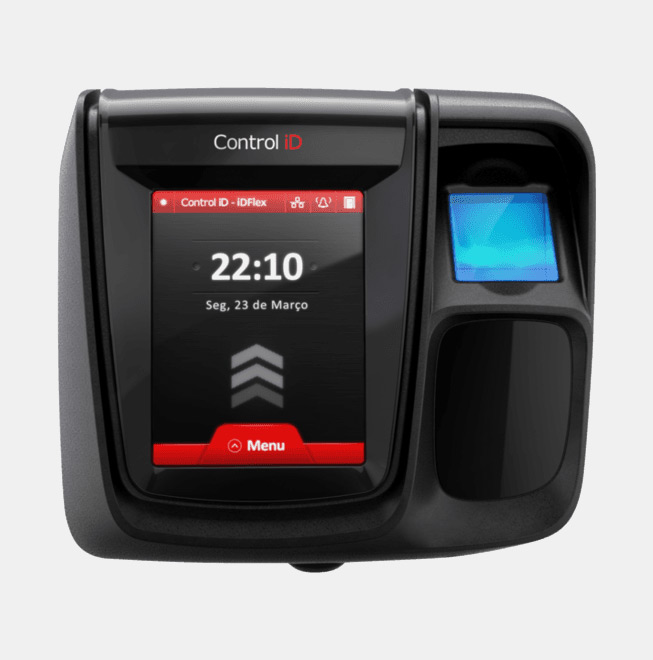 Controle de Acesso Santos Digital Biométrico Flex